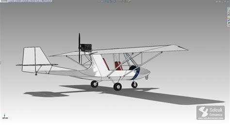solidworks tutorial aircraft excalibur light sport aircraft modeling process