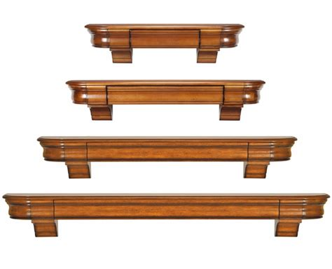 Wood Mantel Shelf by Pearl Mantels 415 Abingdon Wooden Mantel Shelf