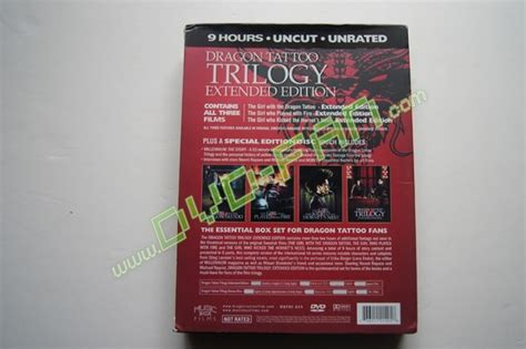 dragon tattoo extended edition dragon tattoo trilogy extended edition