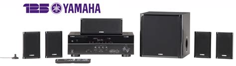 refurbished yamaha yht 497 bl b 5 1 channel home theater