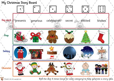 free printable christmas games for the classroom teacher s pet my christmas story board premium