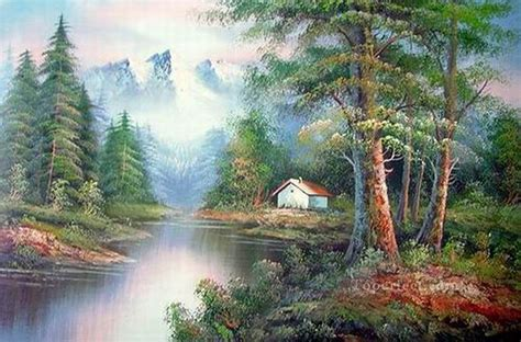 bob ross painting style cheap freehand 13 style of bob ross painting in