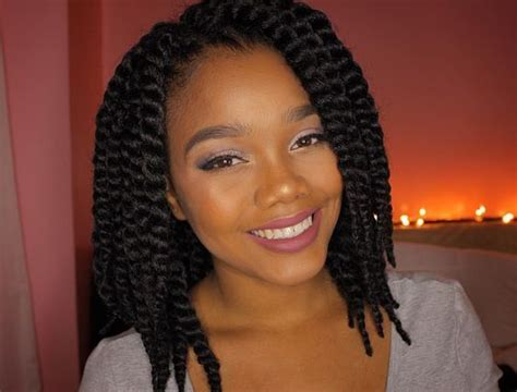 how ti di twist on short white womens hair for sew in weabe these photos will make you fall in love with short braids