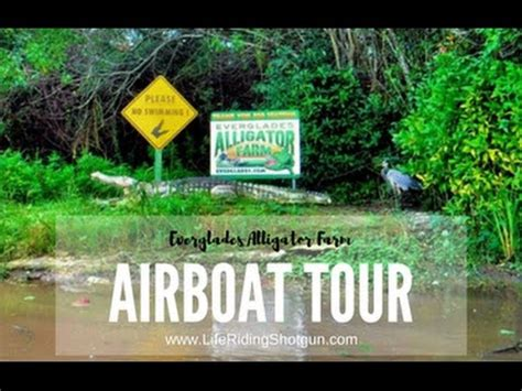 youtube airboat tour everglades everglades airboat tour youtube