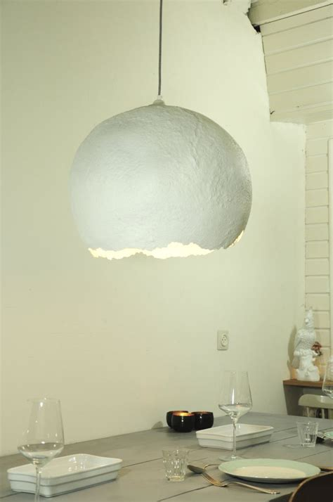 paper mache hanging lights best 25 recycled l ideas on wooden l