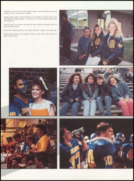 explore 1990 mountain home high school yearbook mountain