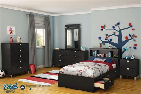 Tempat Tidur Anak Minimalis Du Ikea tempat tidur anak mebel jepara minimalis mewah terbaru slide drawers royal furniture indonesia