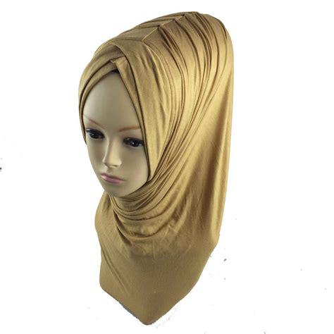 Jilbab Instant khimar instant one abaya jilbab islam ramadan muslim pleat instant shawl jersey