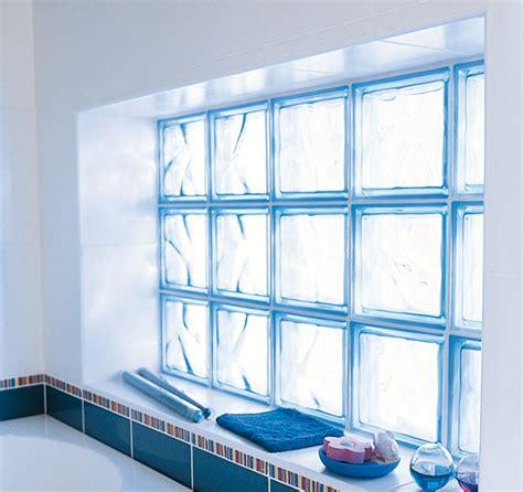 Briques De Verre Lapeyre la brique de verre dans la salle de bains inspiration bain