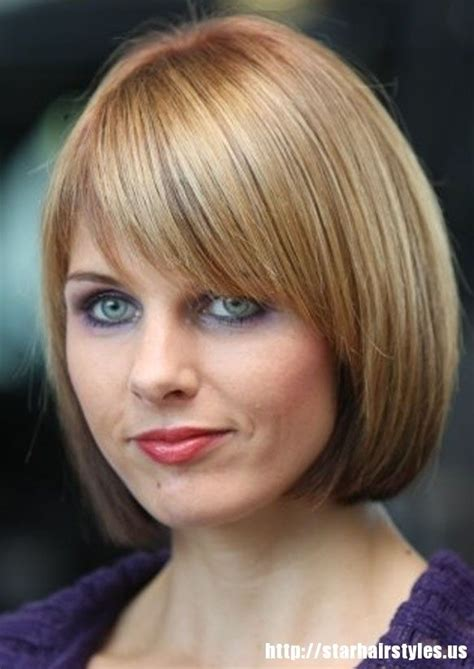 Chin Lenght Haircut For Older Women | chin length bob with bangs haircuts pinterest colors