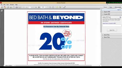 coupon for bed bath and beyond 2015 bed bath and beyond coupon 2015 youtube