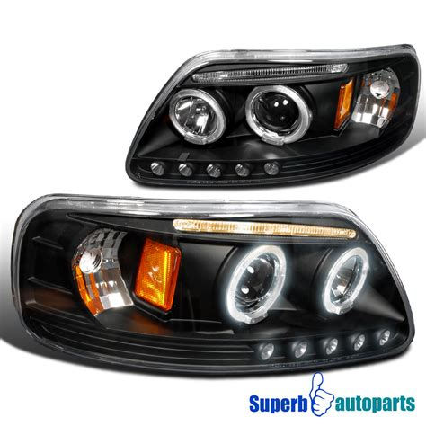 1997 ford f150 headlights 1997 2003 ford f150 expedition halo led projector