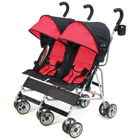Reclinable Umbrella Stroller by Kolcraft Cloud Side By Side Umbrella