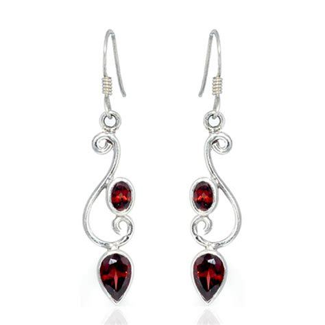 sterling silver earrings wholesale gemstone jewelry