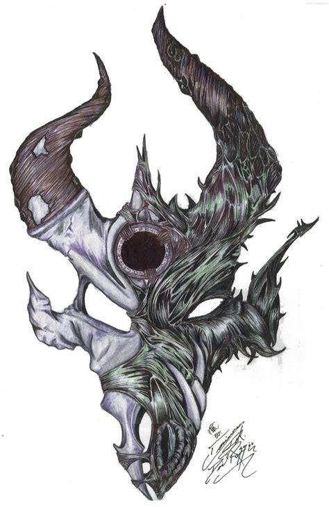 demon hunter logo by cmonster on deviantart