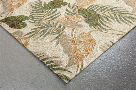 leaf rugs tropical leaf rug from ravella by trans by liora manne plushrugs