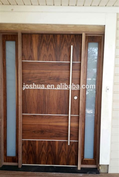 walnut front doors beautiful modern walnut front door exterior door with