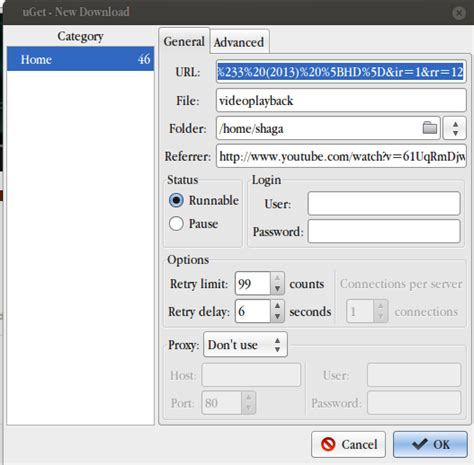 download youtube linux shaga s blog how to download youtube video on ubuntu linux