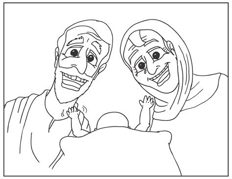 coloring page abraham sarah isaac baby isaac coloring pages download and print for free