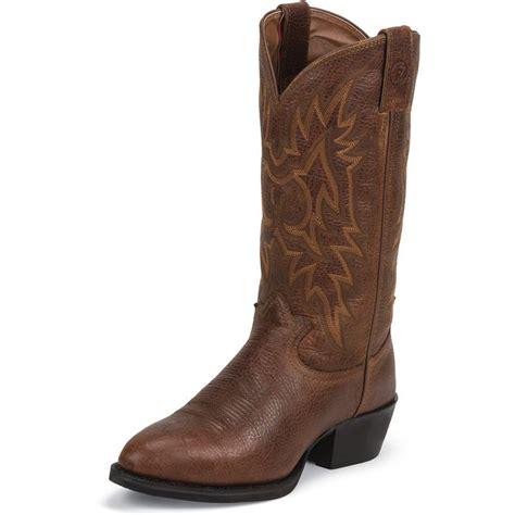 shop s tony lama rust westby cowboy boots