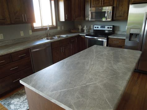 Formica Island Countertops Formica 180fx Soapstone Sequoia Kitchen Island And