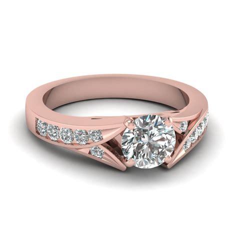 ravishing channel set engagement rings fascinating diamonds
