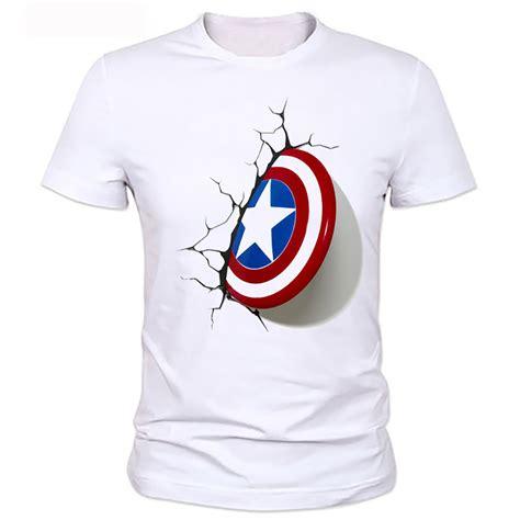 new year shirt 2016 2016 captain america 3d shield t shirt new cool
