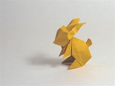 Bunny Origami - easter origami rabbit jun maekawa
