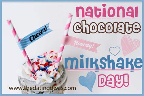 What Do You Its National Chocolate Milkshake Day by National Chocolate Milkshake Day