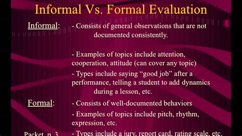 Report And Letter Difference difference between formal and informal assessment