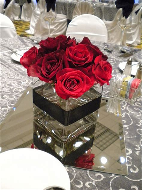 Red Rose Centerpiece Flickr Photo Sharing Roses Centerpiece