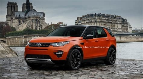 land rover tata tata q501 and q502 based on land rover discovery sport in 2018