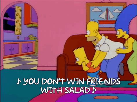 Make Friends With Your Hair And Win by 13 Simpsons Quotes We Use In Every Day Conversation