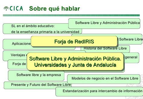 Modelo De Curriculum Junta De Andalucia Impulso Al Software Libre Desde La Junta De Andalucia