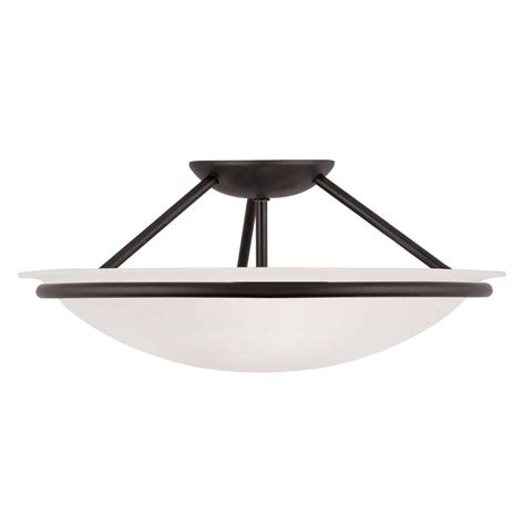 livex lighting providence 3 light ceiling black