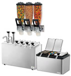 wholesale frozen yogurt toppings mixes syrups cups