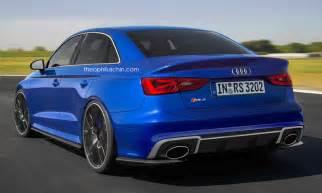 Audi Sedans Audi Rs3 Sedan Looks Convincing In New Renderings
