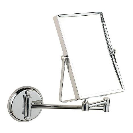 wall mounted bathroom makeup mirror solid brass 8 inches magnifying 8 quot double side bathroom folding brass shave makeup mirror
