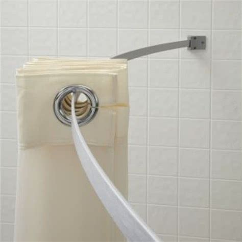 the arc shower curtain rod 5 aluminum curved shower curtain rod chrome finish