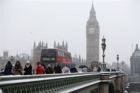 UK weather: London travel disruption likely as capital to ...