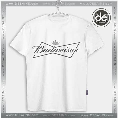Tees Kaos T Shirt Budweiser buy tshirt budweiser logo tshirt mens tshirt womens
