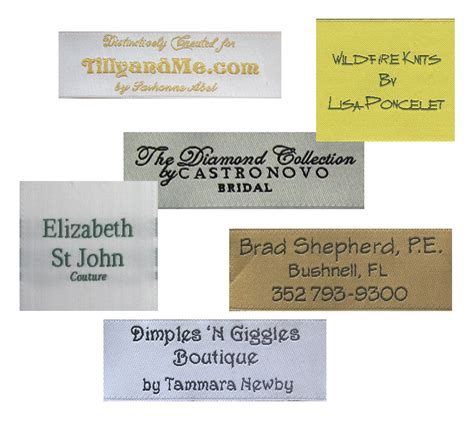 custom tags personalized fabric clothing labels semi custom labels 171 thirtysevenwest creative