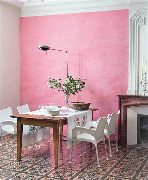 pink wall dining room dining room walls wall color pink