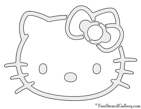Pumpkin Carving Hello Outline by Hello Stencil Free Stencil Gallery