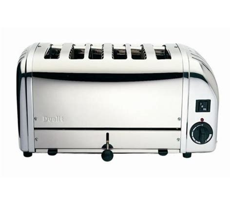Dualit Stainless Steel Toaster buy dualit vario 378701 6 slice toaster stainless steel free delivery currys