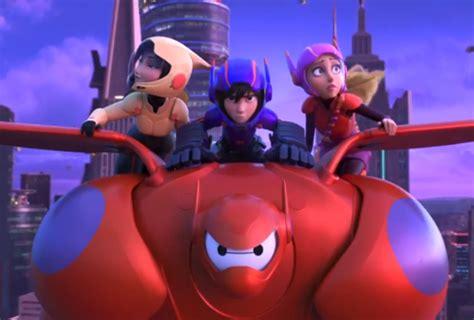 film gratis big hero 6 new york comic con unveils latest look at disney s big