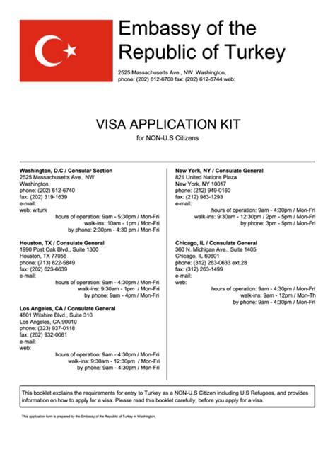 fillable visa application form embassy   republic