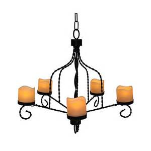 flameless candle chandelier view wilson fisher 174 led flameless candle chandelier