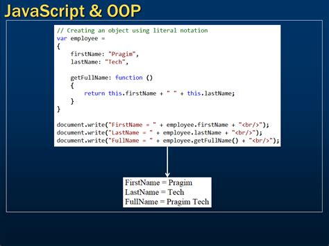 javascript oop pattern sql server net and c video tutorial javascript and
