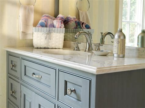 blue bathroom cabinets bathroom cabinet buying tips hgtv